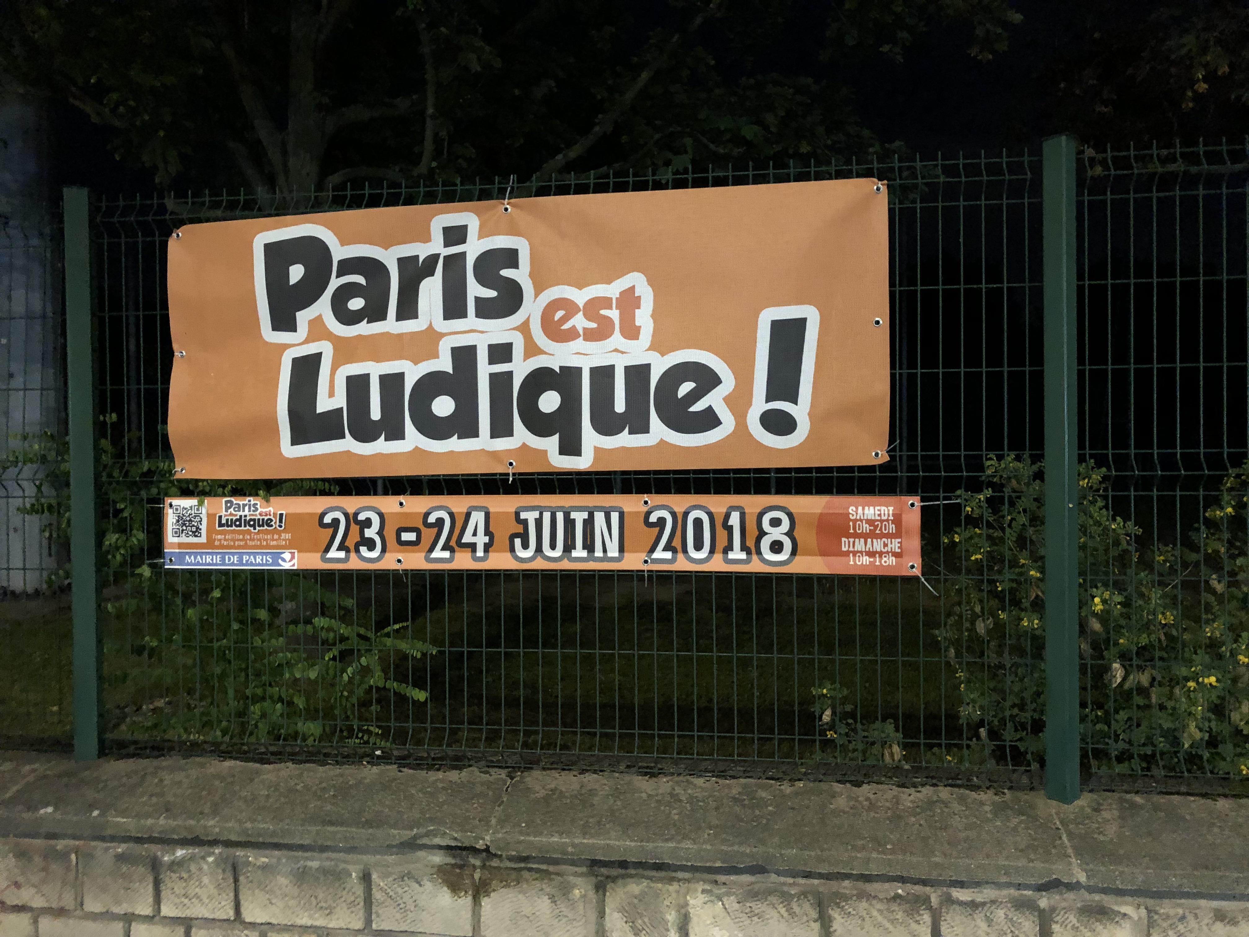 PEL 2018 Paris est ludique